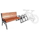 Велоскамейка