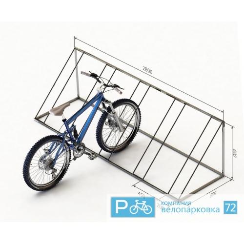 Стойка для велосипедов своими руками 3